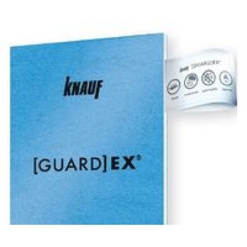ΣΑΝΙΔΑ ΜΠΛΕ KNAUF 12.5mm 1.20M X 2.4M GUARD EX